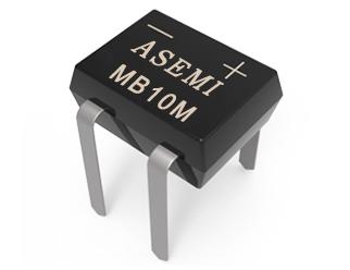 MB10M,MB8M,MB6M,MB4M,MB2M ASEMI插件整流桥