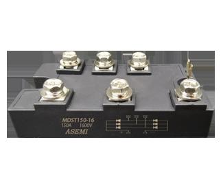 MDST150-16,MDST100-16, ASEMI三相整流桥模块,伺服驱动器/机床用三相可控整流模块 MDST150-16