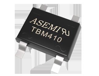 TBM410/TBM408/TBM406/TBM404/TBM402  ASEMI贴片整流桥