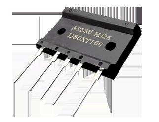D50XT160/D50XT120/D50XT100/D50XT80  ASEMI8整流桥