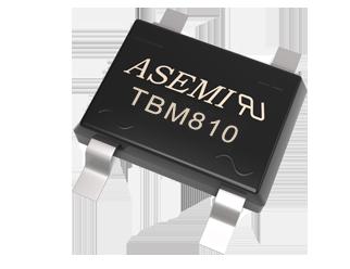 TBM810/TBM808/TBM806/TBM804/TBM804  ASEMI贴片整流桥