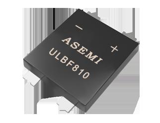 ULBF810/ULBF808/ULBF806,ASEMI整流桥  8A贴片整流桥堆