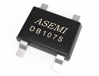 DB107S/DB106S/DB105S/DB104S,ASEMI整流桥,贴片封装安装效率,适配充电器适配器品质好 DB107S