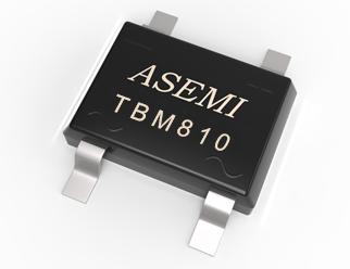 TBM810/TBM808/TMB806/TBM804/TMB802 ASEMI整流桥  8A贴片整流桥