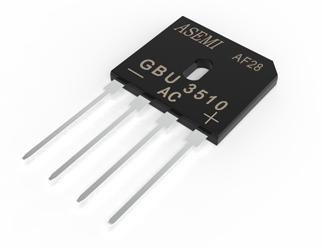 GBU3510,GBU3508,GBU3506,GBU3504,GBU3502, ASEMI整流桥